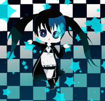 Black Rock Shooter by Super-Pixels