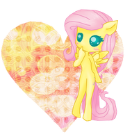 Fluttershy Heart Chibi by CrashNebulissa