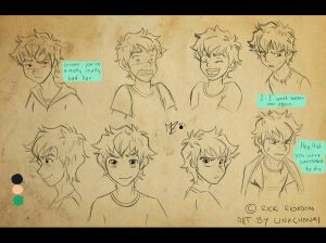 Percy Jackson - The Lightning Thief by linxchan91