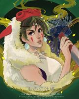 Princess Mononoke by HarryYong