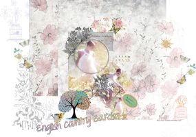 ENGLISH COUNTRY GARDEN by Vee-Deviant