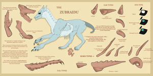 UPDATED - Zubraidu info sheet and common traits by rottingseams