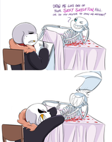Undertale:: SwapFell:: UnderFell:: Let's Get It On by SpaceJacket