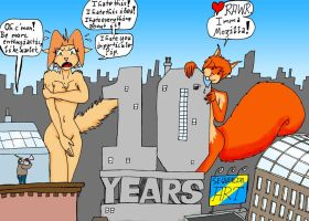 10 Years Sequencial Art by wolfman-al