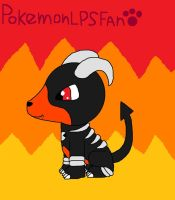 Doomdog The Houndoom by pokemonlpsfan