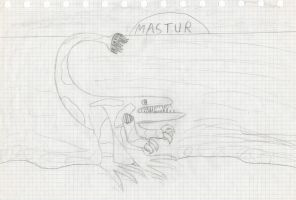 Mastur by Dino-drawer