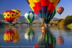 Surrounded by Hot Air Balloons by La-Vita-a-Bella