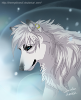 Magical Wolf by TheMysticWolf
