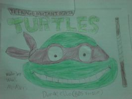 Classic Donatello from Ninja Turtles by Wael-sa