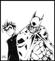 Batman and Robin by RAHeight2002-2012