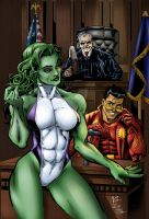 She Hulk and Bayani by sorah-suhng
