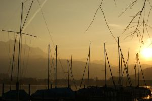 Boat Masts 2 by Stichflamme-Stock