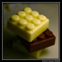 chocolate lego by klaudelu