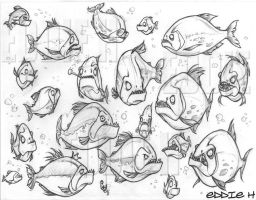 Piranhas by EddieHolly