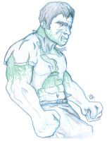 The Incredible Hulk by SentientDesigns
