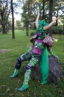Ysera III just chillin ~ by Headclouds