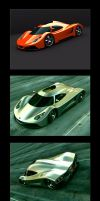 Raven R1 Conceptual Car by Sqwall