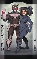 Zeogold and Vile by Chronorin