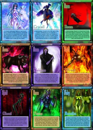 Mythology Cards 11