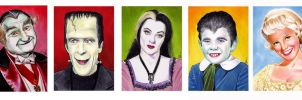 The Munsters by twoshirts