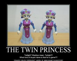 Zelda, the Twin Princess by ninjatoespapercraft