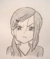 Sanae crying by Stosyl