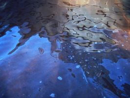 Abstract Water Reflections Texture Use Stock Photo by annamae22
