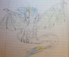 Older picture of a dragon by Meowstic-45