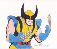 Wolverine by 88MilesPrower