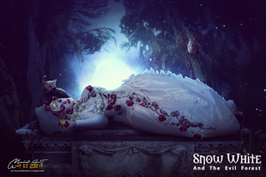 Snow White - ANd The Evil Night by Gilgamesh-Art-IQ