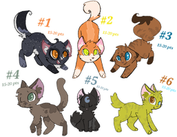 Adoptables #1 (OPEN) by BadWithIdioms