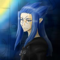 Saix - Darkness by Gekroent