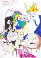 Adventure Time Collage by infinitemango