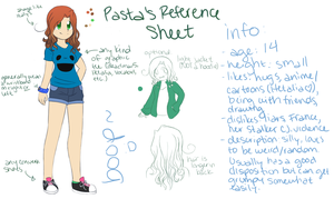 Pasta's Reference Sheet (Ver. 1.0) by PastaIsALie