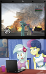 .:Favorite Game:. (with Lyra n' BonBon) by The-Butcher-X