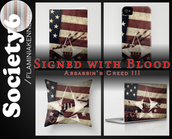 Assassin's Creed III Design - Signed with Blood by FlaminiaKennedy
