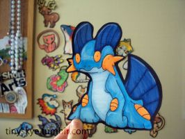 Swampert by TinySkye