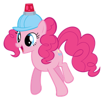 Pinkie Pie Hard-hat by WorldsSmallestGiant