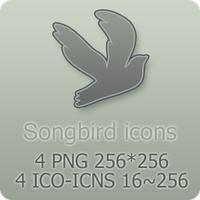 Songbird Icons by mat-u