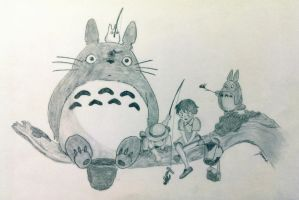 My Neighbor Totoro by elegy01