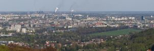 cracow panorama by kubica