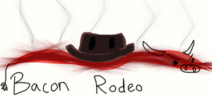Bacon Rodeo by TwilightDragon01