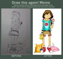 My draw this again! Meme by Mr-Honney