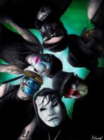 Hollywood Undead by Dykah