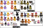 FNaF MiniX3 - Epsilon/Cartoony by Artist-4-Hire-Fyaro