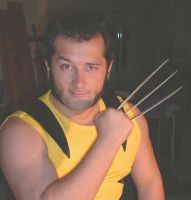 Wolverine...no,only me :p by JordiLupo