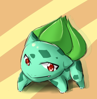 Random Bulbasaur Sketch Thing This Time by Antares25