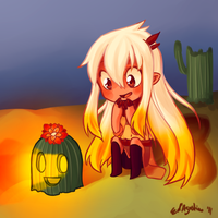 MS: Cactus lantern by ParanoidNoodle
