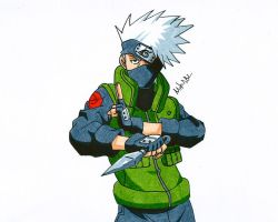 Kakashi by MikeES