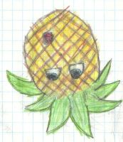 Upsidedown Pineapple by Mudfire4